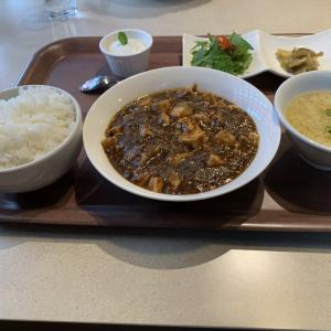 チーナさんで麻婆豆腐定食を食べてきました。