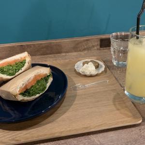ミライストカフェスィーツバーさんで、サンドイッチを食べてきました。