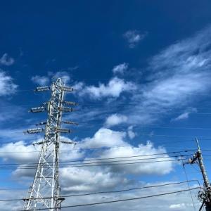 送電線のある風景 * 24