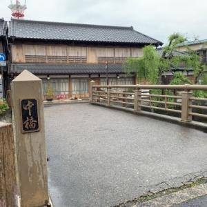 佐原の古い町並み 2 * 小野川に架かる中橋