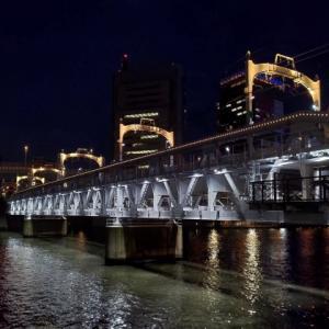 夜の墨田川 2