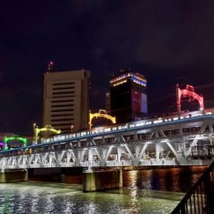 夜の墨田川 3