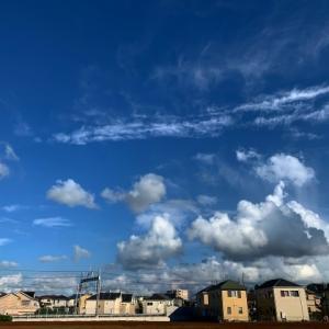 午後16時頃の東の空