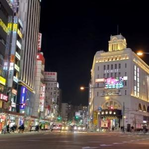 Asakusa night scenery 1