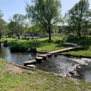 散歩道・野々下水辺公園