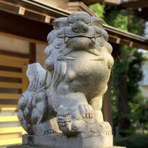 狛犬 5 * 金ヶ作熊野神社