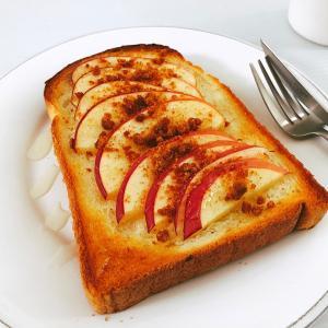 """「食パン」で作る""""おやつトースト""""がブームの予感!スイーツ風でパンを激旨に"""