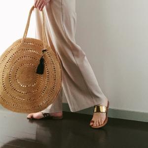 パリ発のかごバッグが、夏のお気に入り。