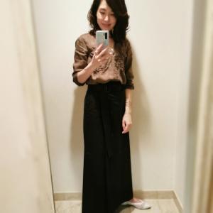 物欲が高まり、通販でスカートを購入しました
