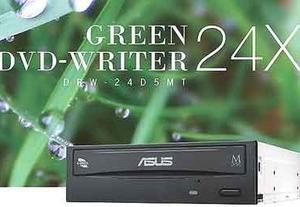 ASUS製DVDドライブDRW-24D5MTが読み込み書き込みできない