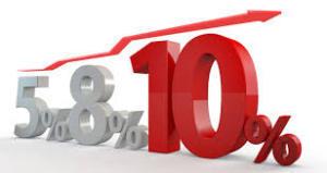 10月から消費税が10%になります