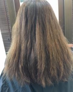 カラーでダメージした髪のケア