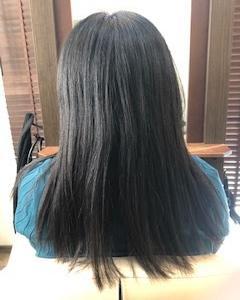 美髪ストレート✨