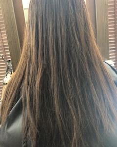 縮毛矯正で毛先がバサバサになりました・・・