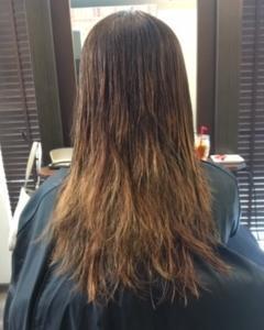 加齢毛・軟毛 髪の毛が傷みやすいんです
