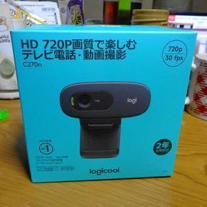 ロジクール HD 720P画質で楽しむテレビ電話・動画撮影 C270n