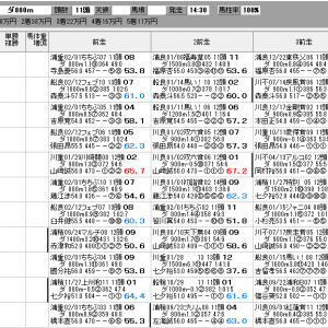 地方競馬 2/24(水) スプリングカップ SP指数
