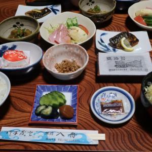 福島県 飯坂温泉 入舟 朝食編と宿泊代金とakippa。