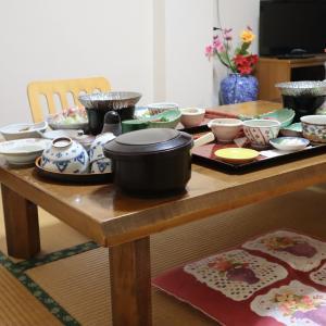 福島県  芦ノ牧温泉 福泉 夕食編と丸峰まんじゅう。