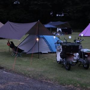 ベストコンデションのキャンプ。