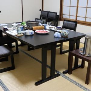 長野県 下諏訪温泉 旅館 おくむら 夕食編。