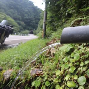 新潟県 村上市  ラジウム清水 湧き水巡り。
