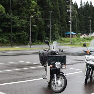 夏休み最終日は阿賀町から一気に帰宅。