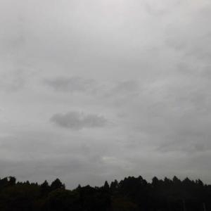 雨が降り 気温上がらず 夏日無