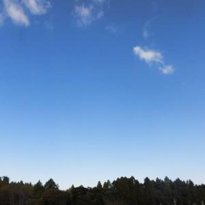 今季初 朝の気温が 一桁に