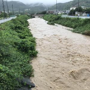 【2020/07/08】今朝の大雨