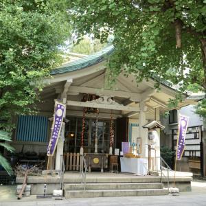 銀杏岡八幡神社 / 東京都台東区