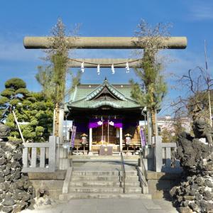 胡録神社 / 東京都荒川区