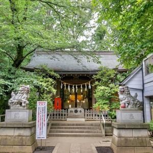 神明氷川神社 / 東京都中野区