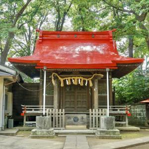 桜川御嶽神社(上板橋御嶽神社) / 東京都板橋区