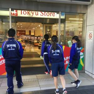 入船茶屋の立川第1中学校職場体験 5日目 2019年11月1日(金)