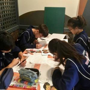 入船茶屋の立川第五中学校職場体験初日 2019年7月5日(金)