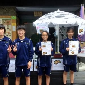 入船茶屋の立川第五中学校職場体験 2日目 2019年7月8日(月)
