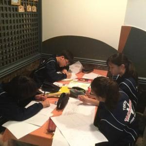 入船茶屋の立川第五中学校職場体験 3日目 2019年7月9日(火)