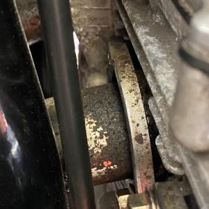 XJR1300のスタッドボルト折れ修理