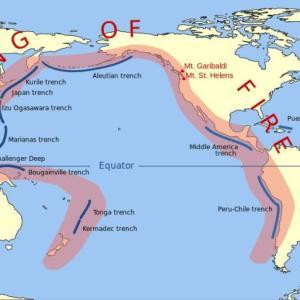 英語学習 『Ring of fire』(環太平洋火山帯)。なぜ日本は地震が多いのか?