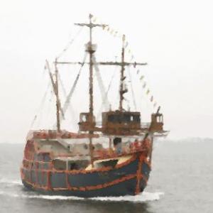 英語学習『貿易センタービルの底から船を発見』。リスニング学習用に。。