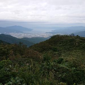 敦賀市街遠景(インディアン平原より)