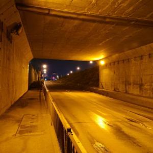 金ヶ崎町(今日の金ヶ崎臨港トンネル)