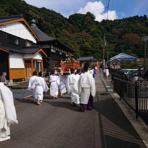 金ヶ崎町(今日の金崎宮 御船遊管絃祭)