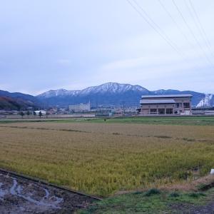 野坂岳遠景(井川より)