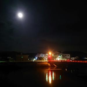 松島町・松栄町(今日のほぼ満月)