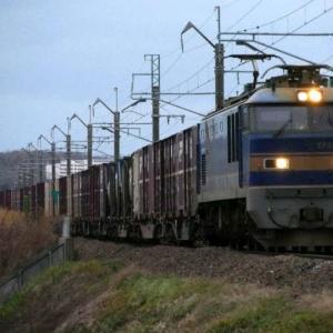 暗い日曜日の貨物EF510-515