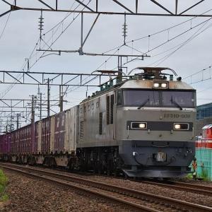 ATストレートを行く貨物列車EF510-509