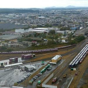 秋田臨海鉄道特別公開2020を俯瞰する