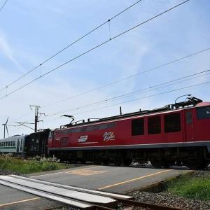甲種輸送H100型6Bとヨ8902